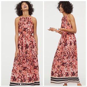 New! H&M Satin Maxi Dress